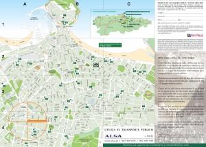 Mapa Gijón de sidra - Post Nautalia