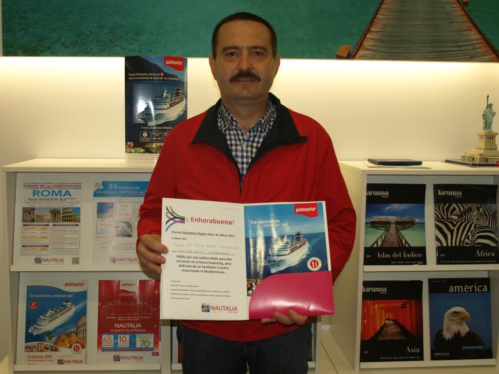 Mundinauta ganador del sorteo de Nautalia - Santos M. Nieto Muros