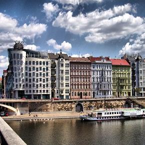 Praga, un baño de estilos