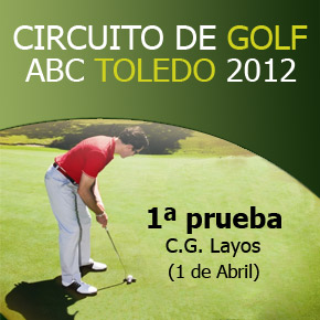1 prueba del Circuito de Golf ABC 2012