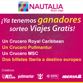 Ganadores del #viajesolidario!