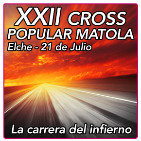 XXXII Cross Popular Matola: La carrera del infierno