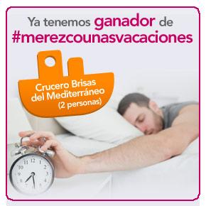 #Merezcounasvacaciones: primer ganador