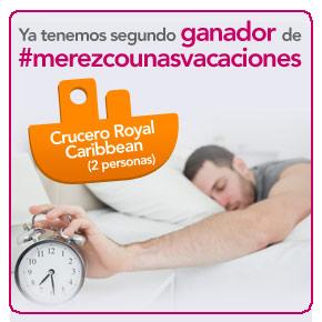 #Merezcounasvacaciones: segundo ganador