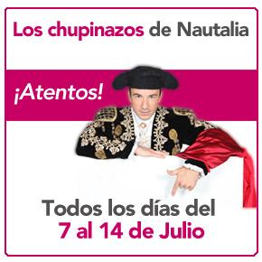 Viva San Fermín, Vive los chupinazos de Nautalia