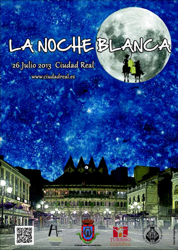 Cartel Noche Blanca de Ciudad Real